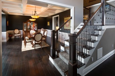 Dining Room Stairs - Best Green Energy Award