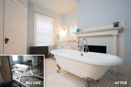 Sewickley Manor Renovation — Master Bathroom