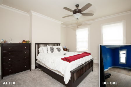 Sewickley Manor Renovation — Master Bedroom