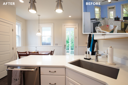 Sewickley Manor Renovation — Kitchen