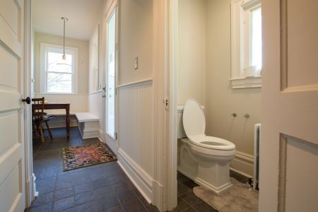 Sewickley Manor Renovation — Powder Room After
