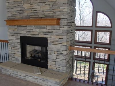 3C LoftFireplace
