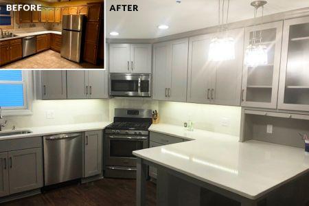 Before-After Merklin-Kitchen
