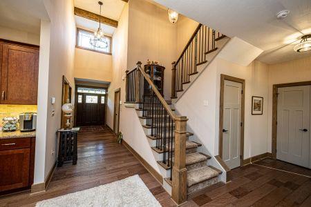Hertzler Stairs-foyer
