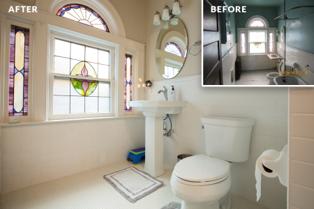 Sewickley Manor Renovation — Bathroom